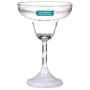Margarita Glass with Light-Up Spiral Stem - 8 oz. Image 1 of 2