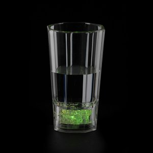 Liquid Activated Light-Up Fluted Shot Glass - 2 oz. Image 5 of 5