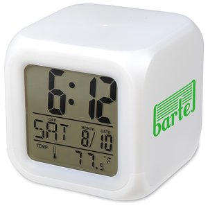 Color Changing LED Alarm Clock Image 1 of 7
