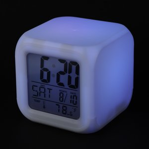 Color Changing LED Alarm Clock Image 3 of 7