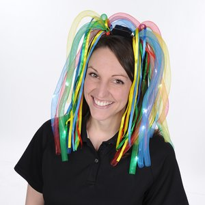 LED Noodle Headband - Multicolor Image 2 of 2