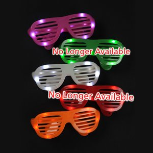 Light-Up Slotted Glasses Image 2 of 3
