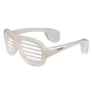 Light Up Slotted Glasses - Multicolor