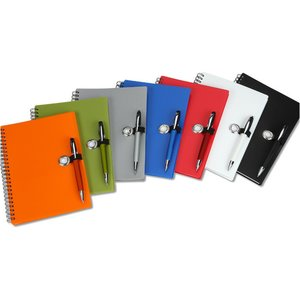 Dina Notebook Set with Metal Pen Image 1 of 2