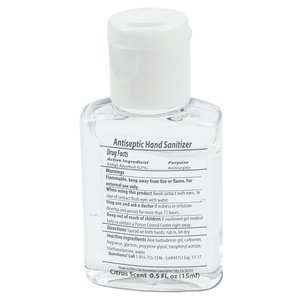 Citrus Hand Sanitizer - 1/2 oz. Image 1 of 1