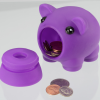 Piggy Coin Bank Image 2 of 3