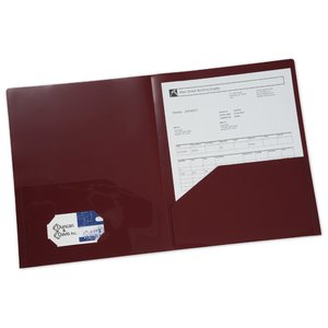 Twin Pocket Presentation Folder - Opaque Image 2 of 2