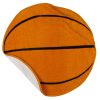 Sport Ball Towel - Basketball Image 1 of 2