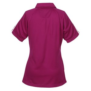Performance Pique Mesh Colorblock Polo - Ladies'