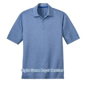 Nike Performance Dri-Fit Heather Polo - Men's Image 3 of 6