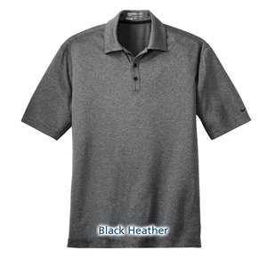Nike Performance Dri-Fit Heather Polo - Men's Image 5 of 6