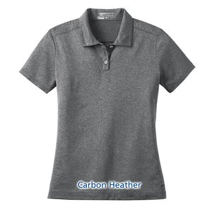 Nike Performance Dri-Fit Heather Polo - Ladies' Image 3 of 5