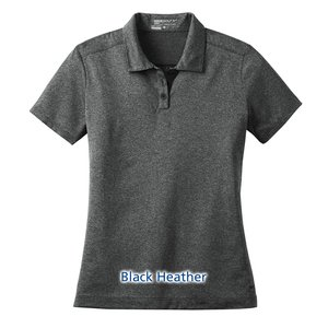 Nike Performance Dri-Fit Heather Polo - Ladies' Image 5 of 5