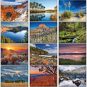 National Parks Calendar Image 1 of 1