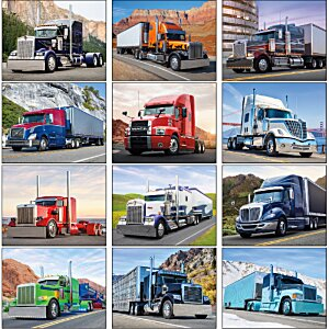 Big Rigs Calendar Image 1 of 1