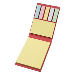 Elastic Closure Sticky Notes Set Image 1 of 2