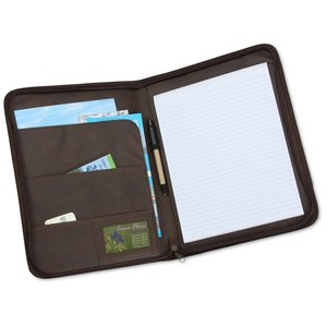 Tanis Zippered Padfolio Image 1 of 3