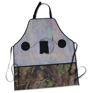 Camo Grill & Groove Apron w/Speakers Image 1 of 1