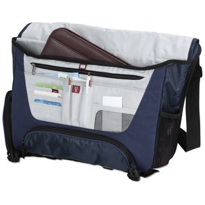 elleven Drive Checkpoint-Friendly Laptop Messenger - Embriodered Image 1 of 6