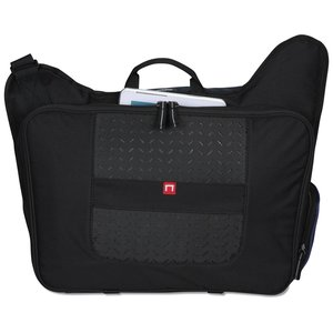 elleven Drive Checkpoint-Friendly Laptop Messenger - Embriodered Image 2 of 6