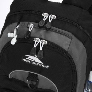High Sierra Enzo Backpack - Embroidered Image 4 of 4
