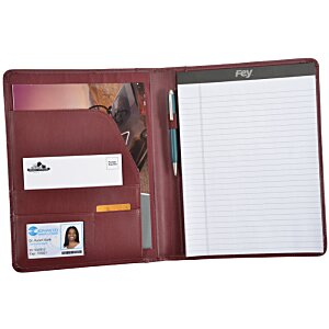 Vintage Leather Writing Padfolio Image 1 of 2