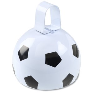 Soccer Ball Cow Bell Image 2 of 2
