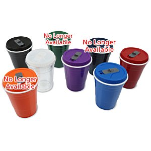 Game Day Cup w/Lid - Opaque - 16 oz. Image 1 of 2
