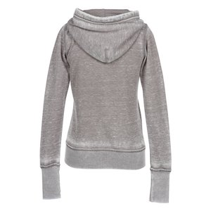 Ridgemont Burnout Full Zip Hoodie - Ladies' Image 1 of 1