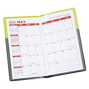 Colorblock 2-Tone Planner - Academic Image 2 of 2