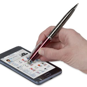Guillox Nine Fiber Stylus Twist Metal Pen - 24 hr Image 1 of 3