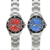 View Image 4 of 5 of Master Stainless Steel Watch - Men's