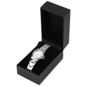 Hamburg Brushed Steel Watch - Ladies' Image 1 of 1