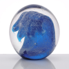 Wave Art Glass Paperweight Image 1 of 1