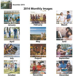 Motivations-Gratifying Moments Calendar 2014-Closeout Image 1 of 1