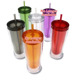 Sipper Tumbler with Straw - 16 oz.