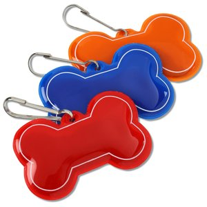 Reflective Pet Collar Tag - Dog Bone Image 1 of 1