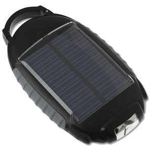 Solar Phone Charger with Light - 1700 mAh Image 2 of 2
