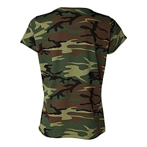 Code V Camouflage T-Shirt - Ladies' Image 1 of 2