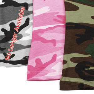 Code V Camouflage T-Shirt - Ladies' Image 2 of 2