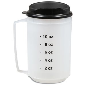 Foam Insulated Medical Travel Mug - 12 oz.