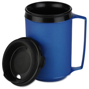 Classic Foam Insulated Travel Mug - 12 oz. Image 2 of 3