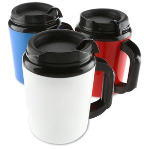 Super Foam Insulated Travel Mug - 34 oz. Image 2 of 2