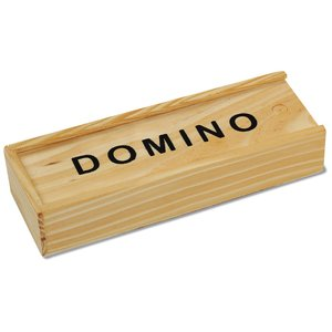 Traveler Dominos in Wood Box Image 2 of 3