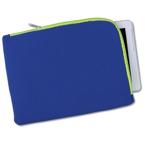 Two-Tone Zippered Tablet Sleeve