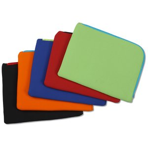 Two-Tone Zippered Tablet Sleeve Image 3 of 4