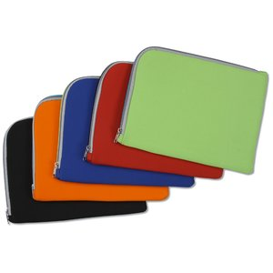 Two-Tone Zippered Tablet Sleeve Image 4 of 4