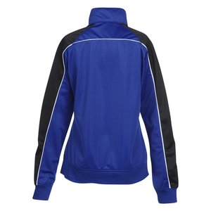 Piped Colorblock Tricot Track Jacket - Ladies' Image 1 of 1
