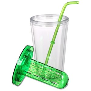 Flavorade Infuser Tumbler with Straw - 16 oz. Image 2 of 2