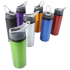 Sip & Flip Aluminum Bottle - 24 oz. - 24 hr